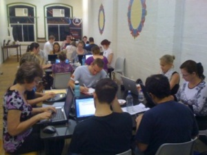 Image of Writing Racers 2009