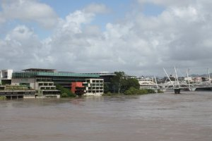 Queensland State Library during 2011 floods